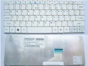 Replacement Laptop Keyboard V111102BK1 Acer Aspire One 532H AO532 D255 D255E NAV50 ZH9 eM350