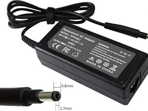 Replacement HP AC Adapter Charger 19.5V 3.33A 65W 4.8mm*1.7mm for HP Envy Sleekbook