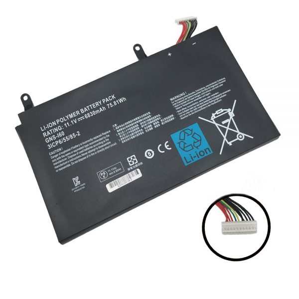 Replacement FPB0279 Laptop Battery for Fujitsu Lifebook UH552 UH572