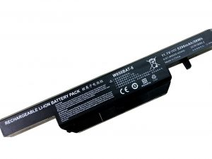 Replacement W650BAT-6 Laptop Battery for Clevo S650SC W650S Series Hasee K650 K610C series