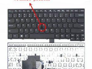 Replacement Laptop Keyboard 04X6101 for Lenovo Thinkpad E450 E450C E455 E460 E465 W450