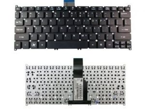 "New Laptop Replacement Keyboard for Acer Aspire V5-122 V5-122P V5-132 MS2377 E3-111 R3-131T V139330AS1 Windows 8 Layout ""Without Frame"" and Backlit."
