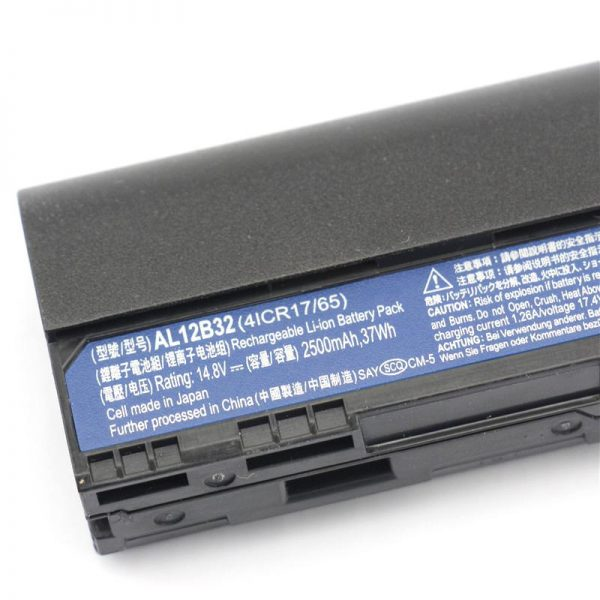 Replacement Acer AL12B32 Acer Aspire One 725 Series 756 Series V5-171 Series Laptop