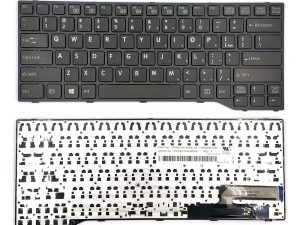 Replacement Laptop Keyboard CP629204-01 for Fujitsu Lifebook E744 E733 E734 E743 E544