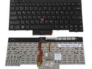Replacement Laptop Keyboard 04W3025 for Lenovo ThinkPad T430 T530 L530 T430S T430I W530 X230T