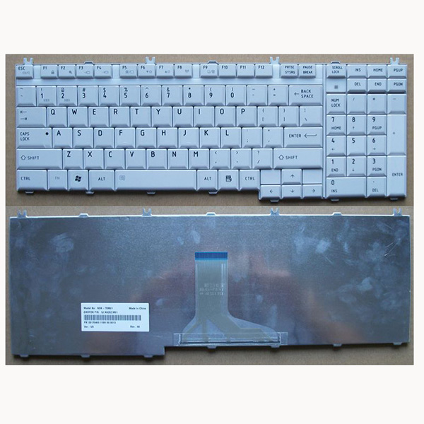 Replacement Laptop Keyboard 9J3N9282.A01 For Toshiba Satellite A500 L350 L500 P200 P300 X205