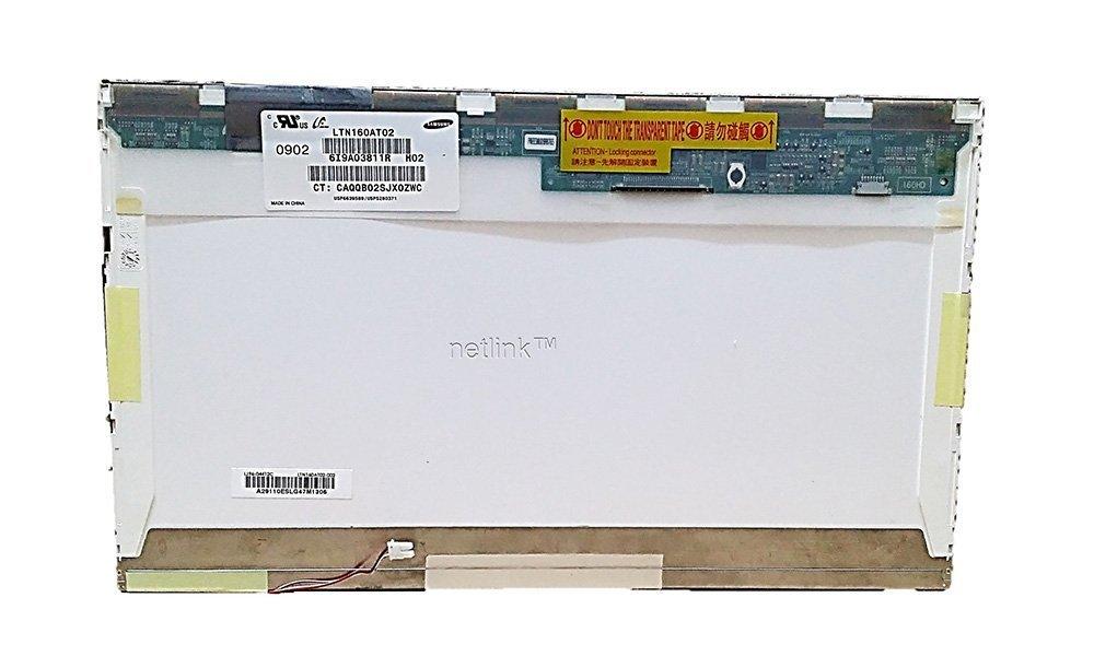 16.0 LCD CCFL 1-Bulb 30 Pin Socket LTN160AT02 H02 HP G60 Replacement Laptop screen