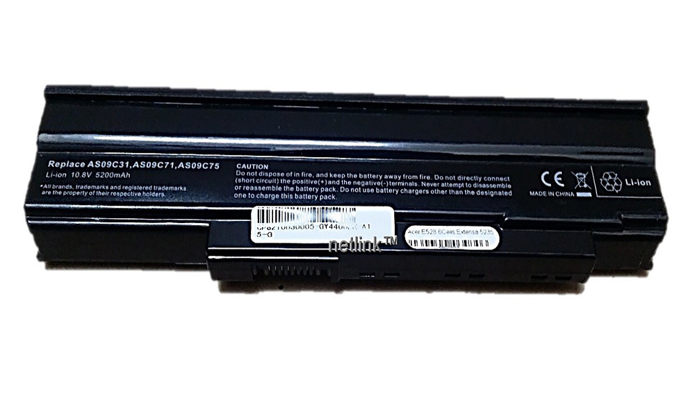 Replacement AS09C31 Laptop Battery for Acer eMachines E528 GatewayNV4001 Packard Bell NJ31 series